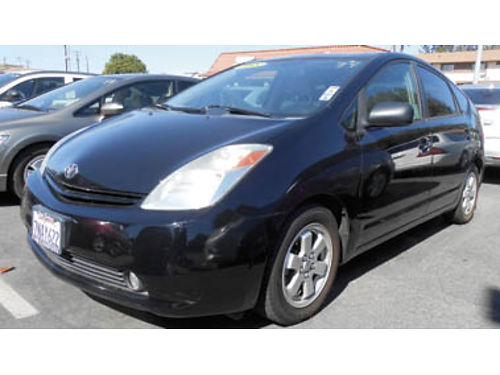 2005 TOYOTA PRIUS HATCHBACK 4cyl hybrid AT AC spoiler alloys must see 6995 080421062 SB