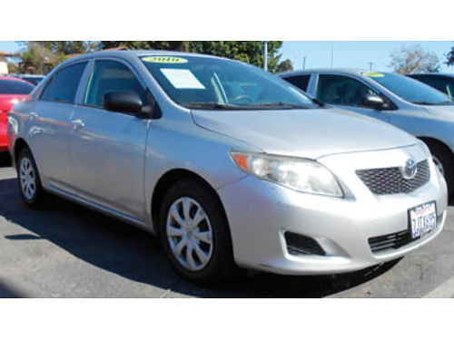2010 TOYOTA COROLLA 4cyl 18L AT AC TW MP3 Wow - Hurry 9995 0899Z292423 SBCARCO 1001 W