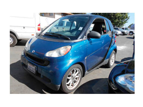 2008 SMART FORTWO Pure Hatchback 3cyl AT AC airbags low miles 5995 1099K146041 SBCARCO 1