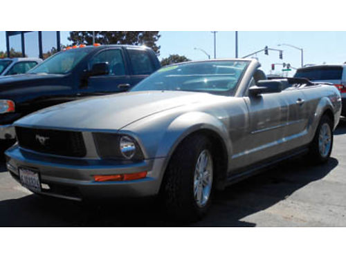 2008 FORD MUSTANG Convert Fun to drive Lthr Pwr softtop foglights spoiler 8995 10775188367