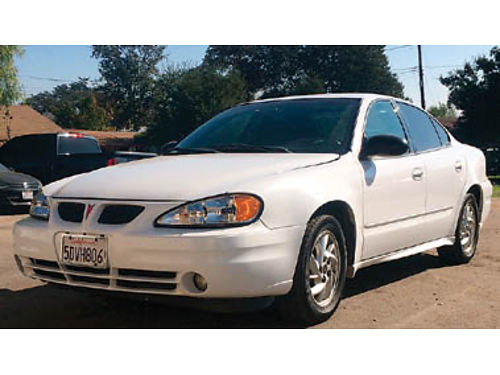 2003 PONTIAC GRAND AM 22L 4 cyl AT in good condition in  out no body damage 130K miles well m
