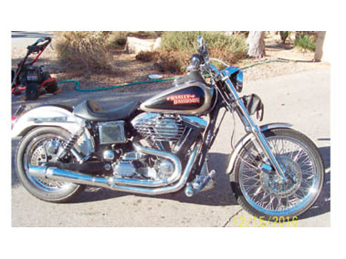 1997 HARLEY-DAVIDSON DYNA LOW RIDER Thunder headers Munie carb Andrews cam and the heads flowed