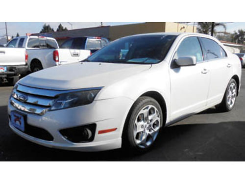 2010 FORD FUSION SE V6 Flex Fuel 30L alloys Must see 7995 U2470R84175 Only at FAMILY MOT