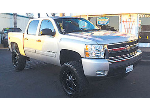 2008 CHEVY SILVERADO LT 4x4 1-owner new lift new rims  tires service records Now only 22995