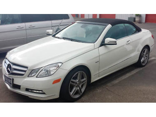 2012 MERCEDES-BENZ E350 Convertible like brand new only 20K miles always garaged we just dont d