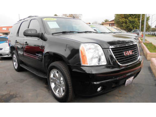 2007 GMC YUKON 3rd row seat leather family ready 16995 11386379616 SBCARCO 1001 West Main