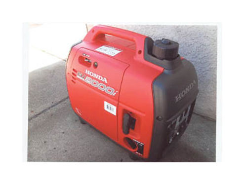 HONDA GENERATOR EU2000i Still like new used once Manual book and some accessories included Paid