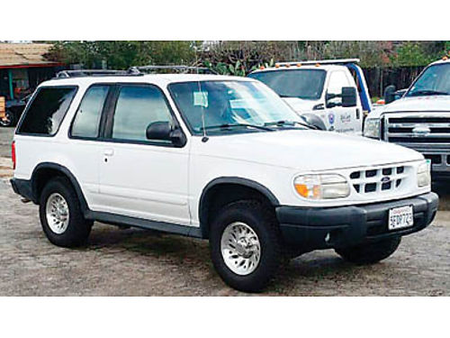 1999 FORD EXPLORER SPORT - 2nd owner 113K miles V6 Auto AC 2WD new tires too many other things