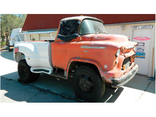 1956 CHEVROLET SNUBNOSE 5700 V8 runs 2 speed rear end new front tires have paperwork 1500