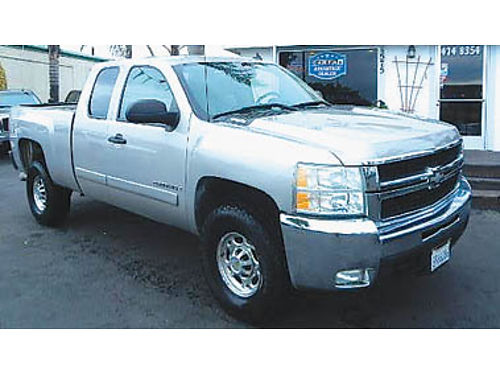 2008 CHEVY SILVERADO 2500 HD Diesel 4x4 one owner hard to find 16995 8790200988 CENTRAL C