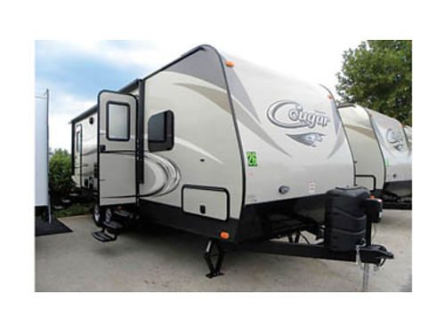 2016 KEYSTONE COUGAR 26DBH - New 30 sleeps 8 awning slideout  more CG1657504811 24995