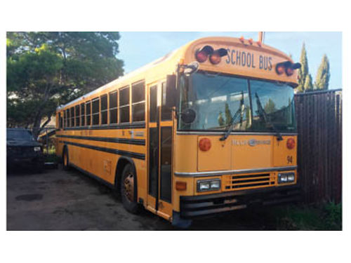 TWO SCHOOL BUSES 80 passenger 1 CNG  1 diesel Call for details 1300 ea