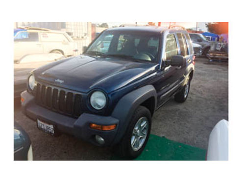 2003 JEEP LIBERTY V6 AT AC CD full power 3495 436280 DW AUTO SALES 805-550-8034