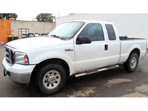 2006 FORD F250 SD - XLT Pkg Ext cab 54L V-8 Tow Pkg 2WD 26K on rebuild clean title current r