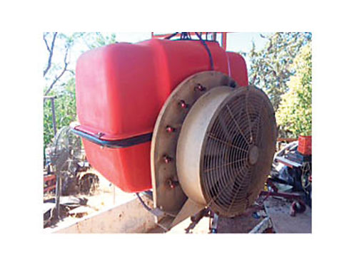 VINEYARD SPRAYER - By Gearmore 3 pt hook-up for tractor 160 gal rebuilt last year well maintd