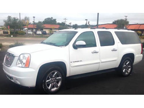 2008 GMC YUKON XL 1500 2wd one owner well maintained fully loaded 16499 obo Call 661-301-3816 for