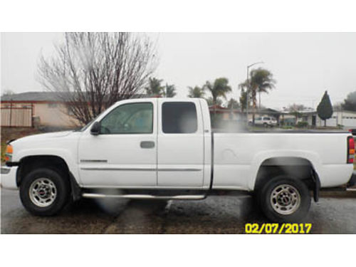 2003 GMC 2500 HD 1 owner Vortec engine KM Airflow full tow pkg all the bells  whistles 250K