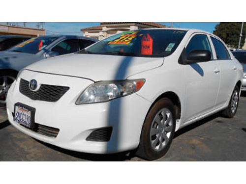 2010 TOYOTA COROLLA gas sipper great car 8995 0919337926 SBCARCO 1001 West Main St Santa M