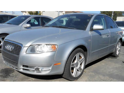 2006 AUDI A4 20T Moonroof turbo leather 6995 0788033148 SBCARCO 1001 West Main St Santa