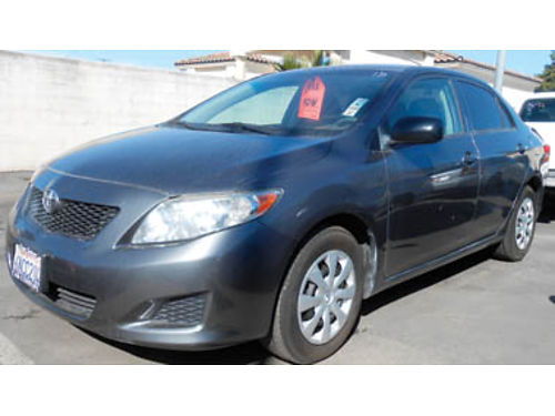 2010 TOYOTA COROLLA MPG great commuter 9995 0907353561 SBCARCO 1001 West Main St Santa Mar