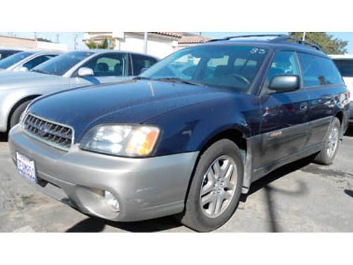 2003 SUBARU OUTBACK AWD fun to drive 4995 0518643172 SBCARCO 1001 West Main St Santa Maria