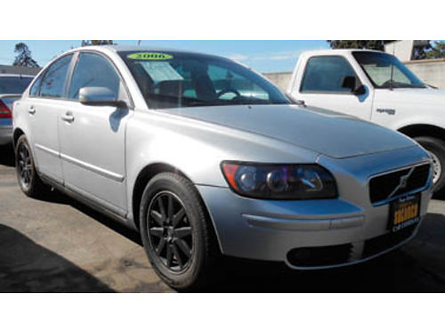2006 VOLVO S40 moonroof leather 6995 0224467411 SBCARCO 1001 West Main St Santa Maria 805