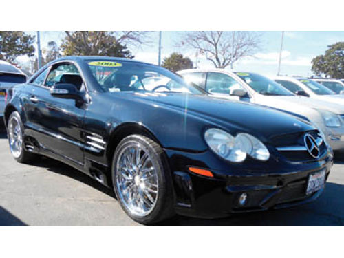 2003 MERCEDES SL500R Lthr immaculate hard top convertible 10995 0744034289 SBCARCO 1001 W