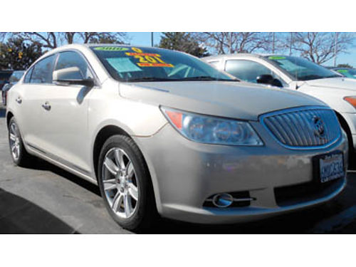 2010 BUICK LACROSSE leather moonroof a must drive 9995 0982209009 SBCARCO 1001 West Main S
