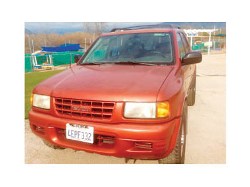 1999 ISUZU RODEO Good shape inside  out engine  trans running smooth 228K AT all power askin