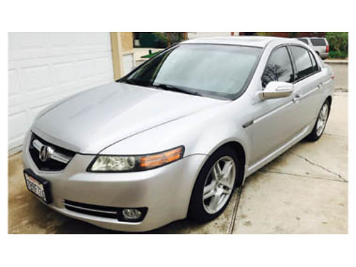 2008 ACURA TL V6 under 90K miles black leather int PW PDL xlnt cond new auto trans new tires