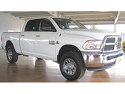 2016 DODGE RAM 2500 4x4 diesel Prior rental 41991 13161PX229670 Pre-owned SANTA MARIA CHRY