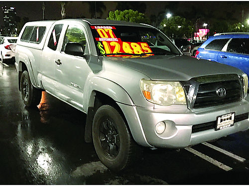 2007 TOYOTA TACOMA Access Cab Pre-Runner 40L AT AC PW PDL TW CC CD shell liner alloys 3