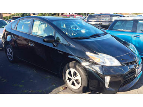 2012 TOYOTA PRIUS ONE HATCHBACK 4cyl hybrid 18L AT traction control AC Bluetooth rear spoile