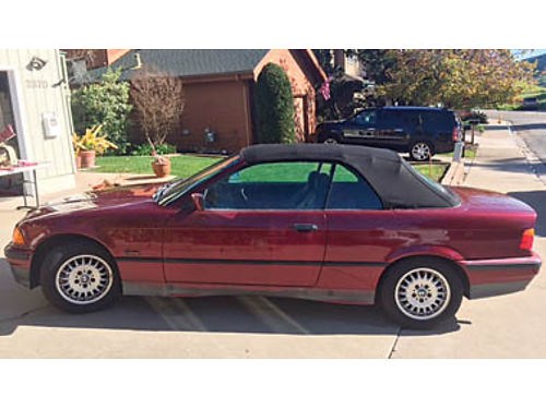 1995 BMW 318ic Convertible 5 speed 131K miles new roof new tires all records- 2nd owner good b