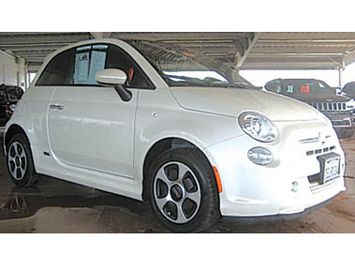 2013 FIAT 500e Battery Electric Low miles 8992 13149PX739070 Pre-owned SANTA MARIA CHRYSLER