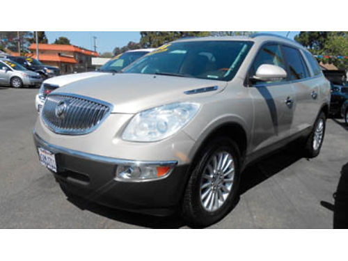 2008 BUICK ENCLAVE CXL V6 36L AT prem sound heated seats lthr 7-pass seating 3rd row seat