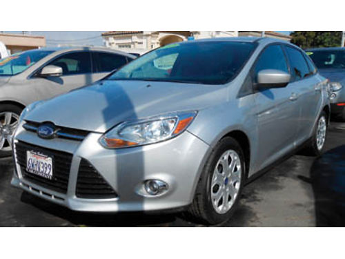 2012 FORD FOCUS SE low miles 4-door Call for price 1173454958 SBCARCO 1001 West Main St San