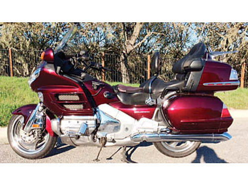 2006 HONDA GOLDWING 1800 ABS all Honda options ABS Nav sound system much more Orig owner 60K