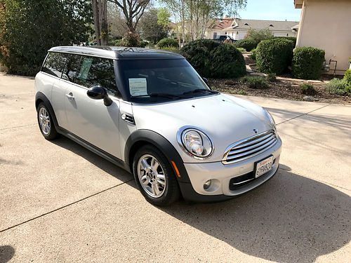 2013 MINI COOPER CLUBMAN -Only 17K mi 16L 4 cyl Steptronic 6 spd at ac leather navmp3 prk