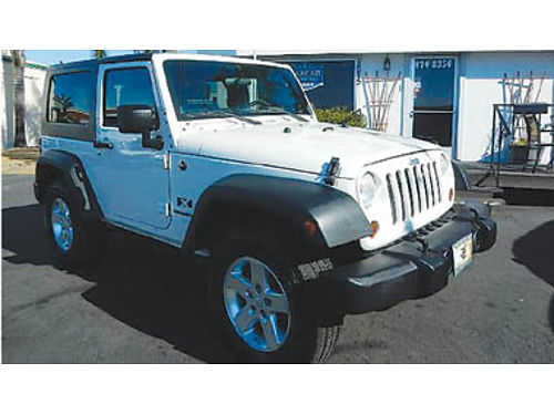2009 JEEP WRANGLER X 4WD one owner immaculate 17495 882714317 CENTRAL COAST CAR CO 1575 W
