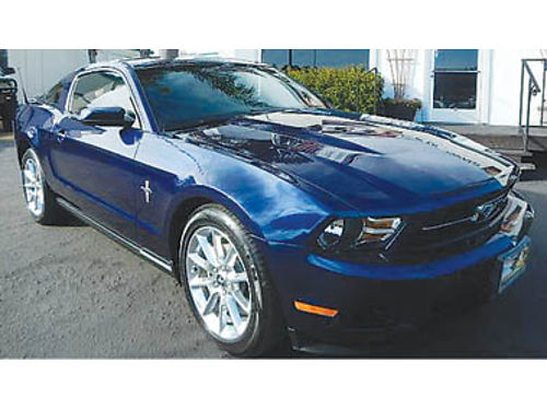 2010 FORD MUSTANG Premium Coupe Low miles one owner prem sound lthr 11495 882211728 CENTR