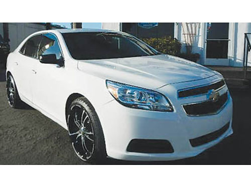 2013 CHEVY MALIBU new rims super clean new tires 12995 8824311228 CENTRAL COAST CAR CO 1