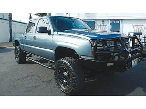 2007 CHEVY SILVERADO Crew Cab 4X4 hard to find lifted local trade-in 17995 8823131547 CEN
