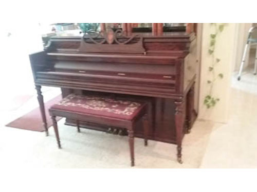 FRENCH PROVINCIAL PIANO - Small Grand piano in excellent condition Plus other excellent pianos Al