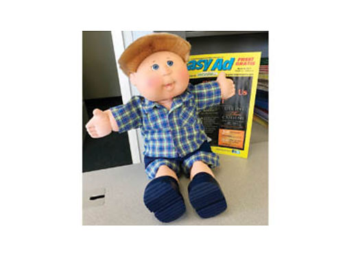 CABBAGE PATCH DOLL Authentic in excellent condition original clothes Yours for 75