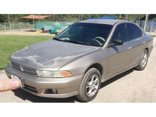 2000 MITSUBISHI GALANT 220K on odometer new engine has 92K Tinted windows Newly smogged 2500