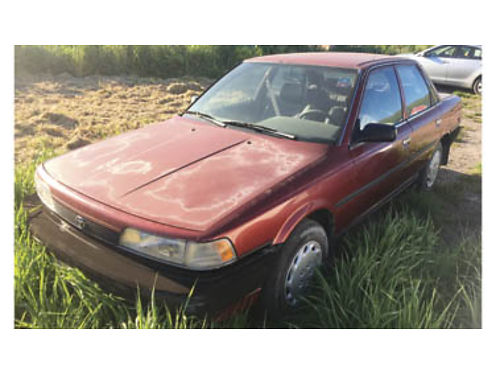 1990 TOYOTA CAMRY 338K miles manual transmission Starts but needs work 700