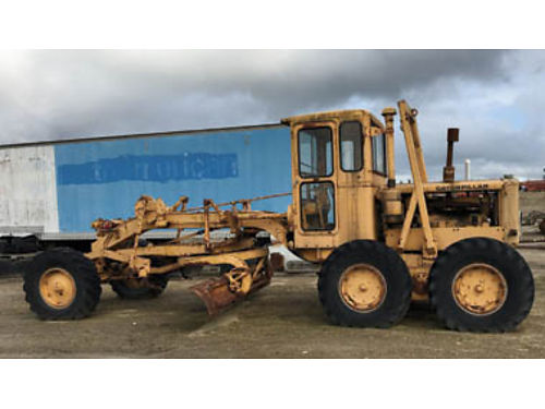 2 CAT 12 MOTOR GRADERS call for prices and more information 805-680-7578