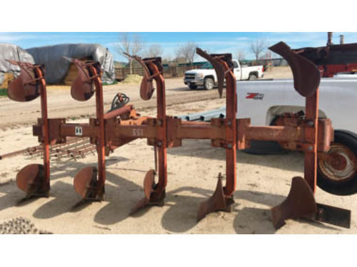 INTERNATIONAL 155 five bottom rollover plow excellent condition Call for price and more informatio