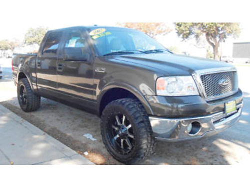 2007 FORD F150 Crew Cab Lariat Low miles Lifted 14995 P2044K13457 Only at WINN HYUNDAI of S
